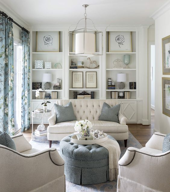 we found these hamptons style interiors befitting inspiration for